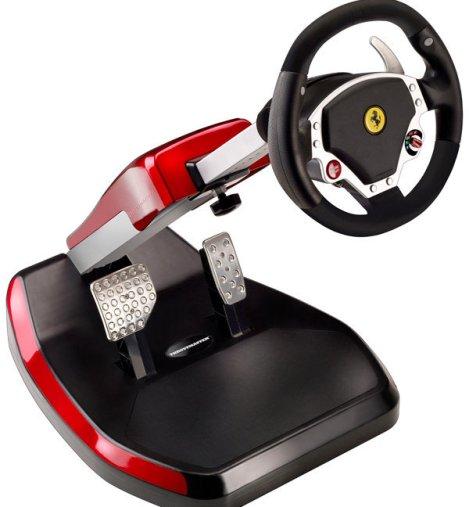 Kierownica Z Logo Ferrari Od Thrustmaster Gram Pl