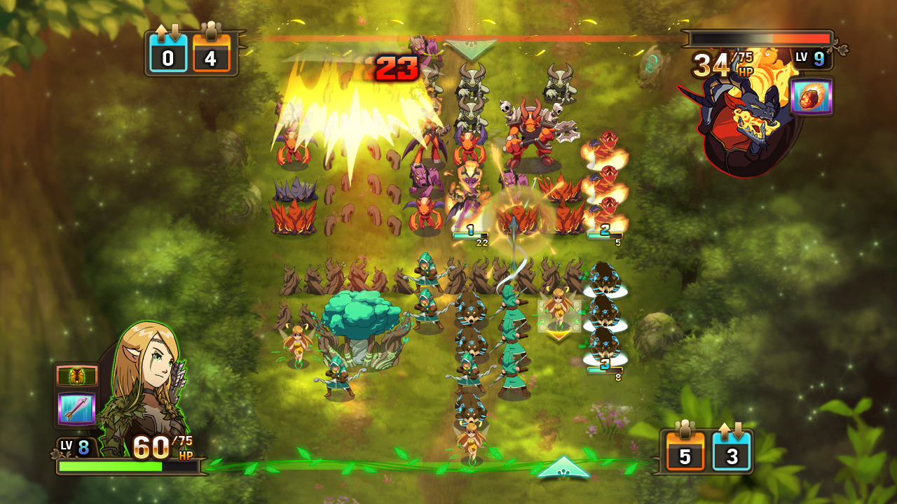 oficjalnie planów przeniesienia Might & Magic: Clash of Heroes