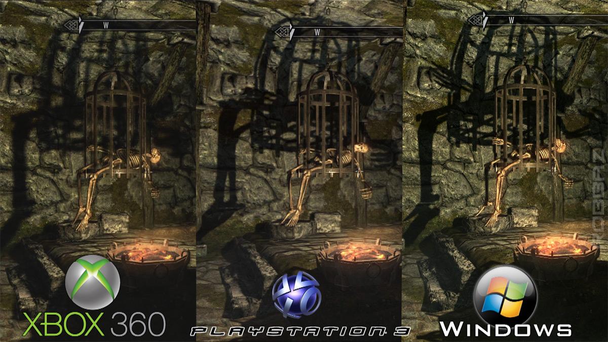 The Elder Scrolls V: Skyrim ? porównanie jako?ci grafiki - obrazek