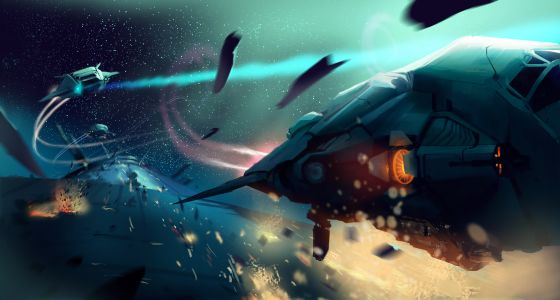 Elite: Dangerous powstanie. Teraz trwa walka o wersję na Maka i dodatkowe statki - obrazek 1