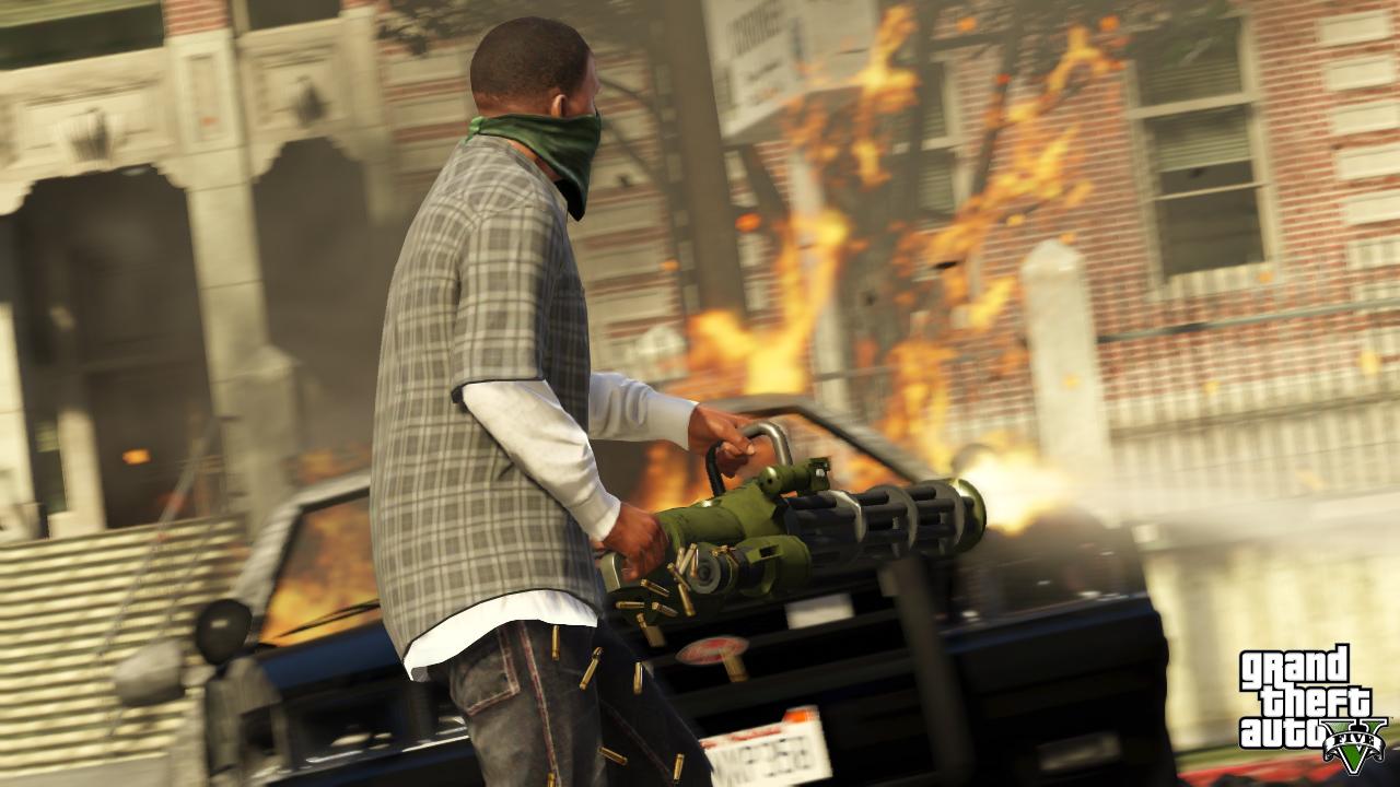 Okładka GTA V oficjalnie ujawniona! - obrazek 1