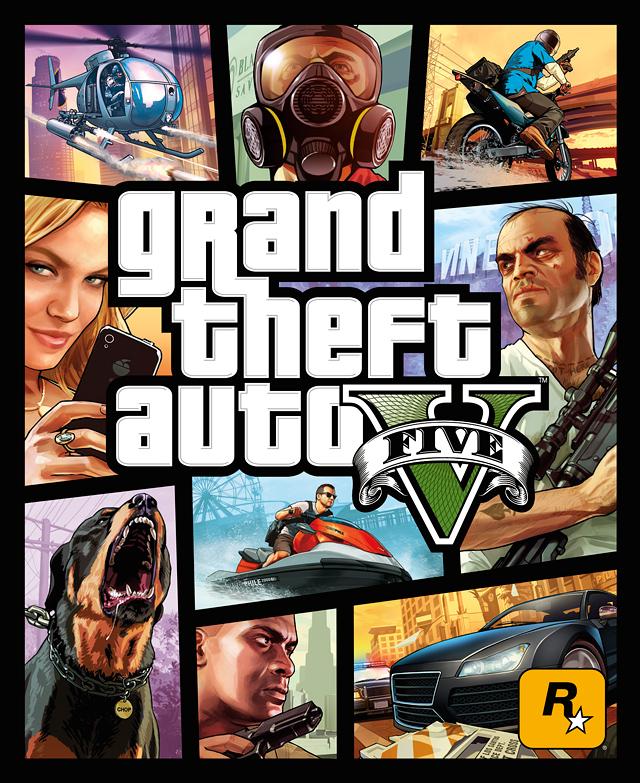 Okładka GTA V oficjalnie ujawniona! - obrazek 2