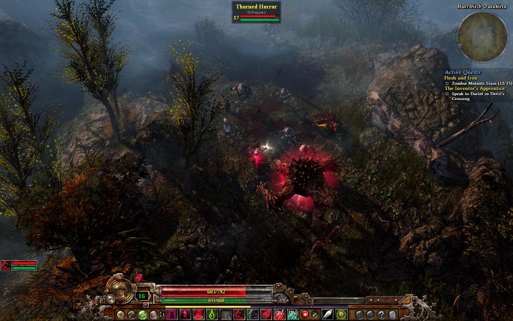 Garść screenów z Grim Dawn, mrocznego hack'n'slasha twórców Titan Questa - obrazek 1