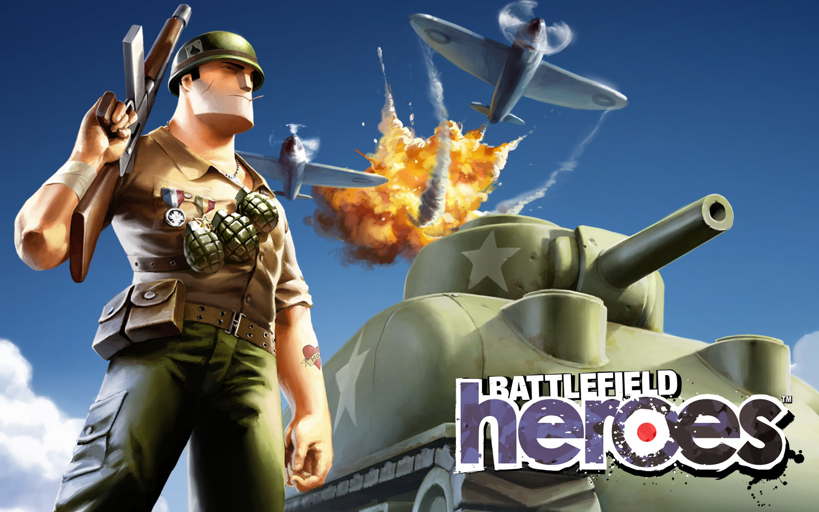 Игру Онлайн Battlefield Heroes