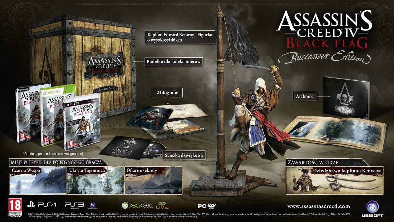 Assassin's Creed IV: Black Flag - Edycja Bukaniera w szczegółach na nowym wideo - obrazek 2