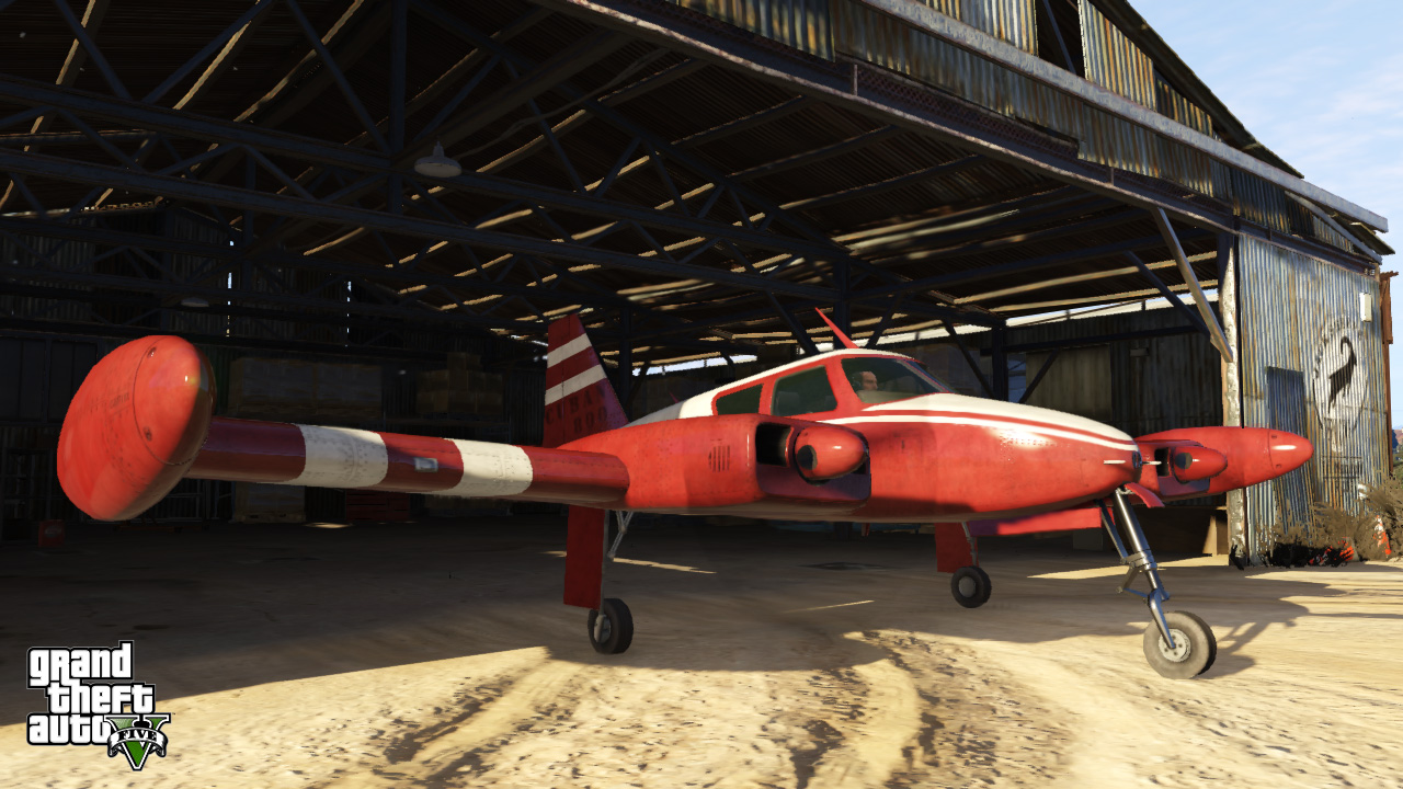 GTA V widziane w wersji na PlayStation 4 - obrazek 1