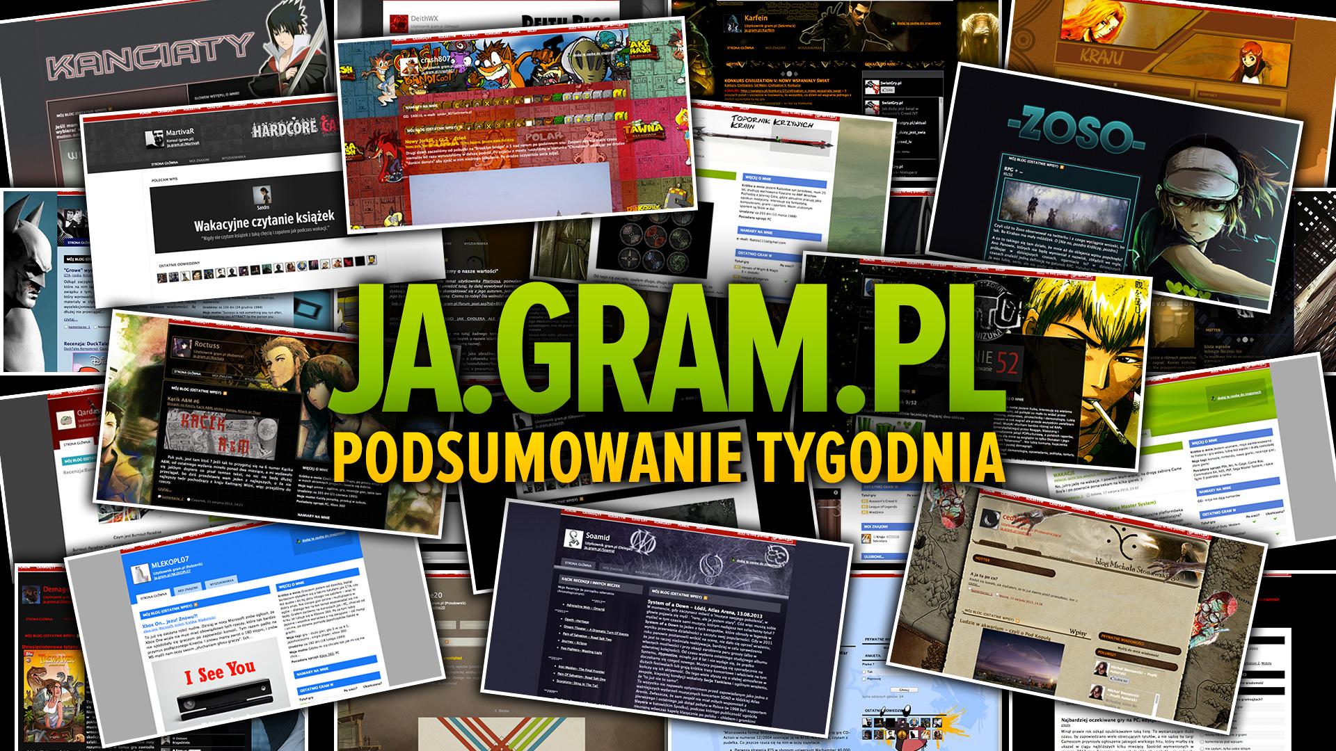 Co w gramsajtach piszczy #88 - Sentymenalne rozmowy o grach komputerowych - obrazek 1