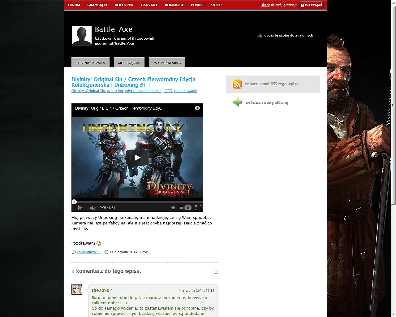 Co w gramsajtach piszczy #104 - O Gamescomie, problemach z premierami i starych przyjaciołach ze szklanego ekranu... - obrazek 4