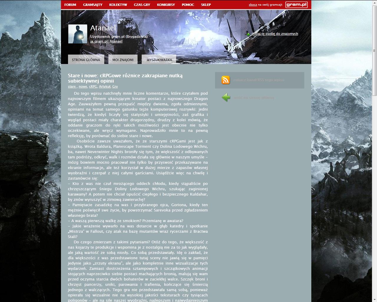 Co w gramsajtach piszczy #111 - O Ethanie Carterze, grach cRPG i filmie Miasto 44! - obrazek 3
