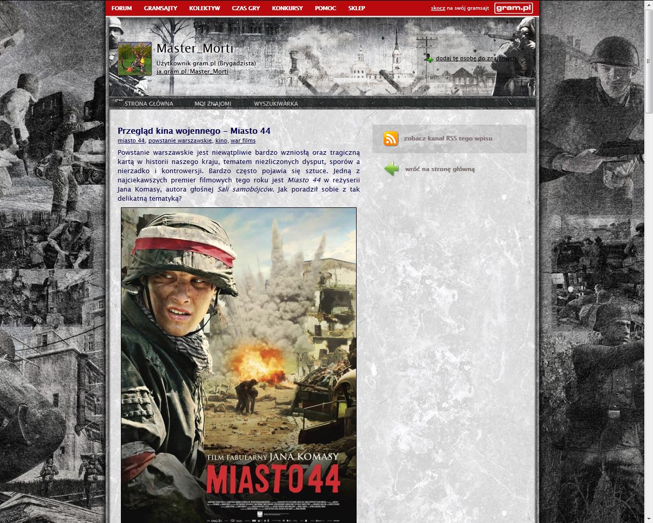 Co w gramsajtach piszczy #111 - O Ethanie Carterze, grach cRPG i filmie Miasto 44! - obrazek 4