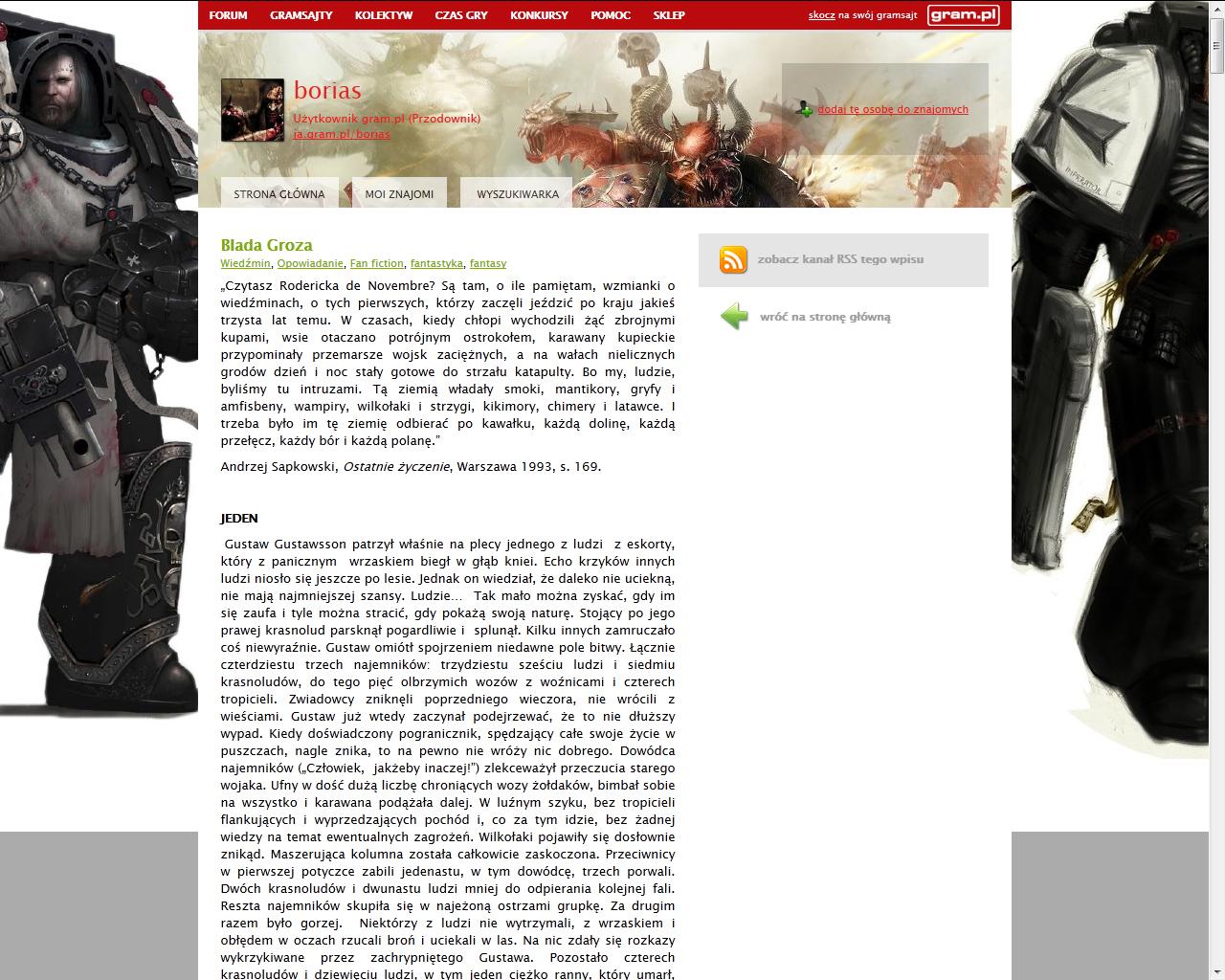 Co w gramsajtach piszczy #111 - O Ethanie Carterze, grach cRPG i filmie Miasto 44! - obrazek 5