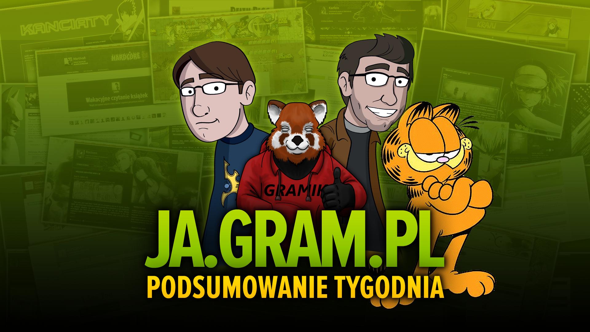 """Co w gramsajtach piszczy #112 - O filmie """"Bogowie"""", Garfieldzie i historii Battlefielda! - obrazek 1"""