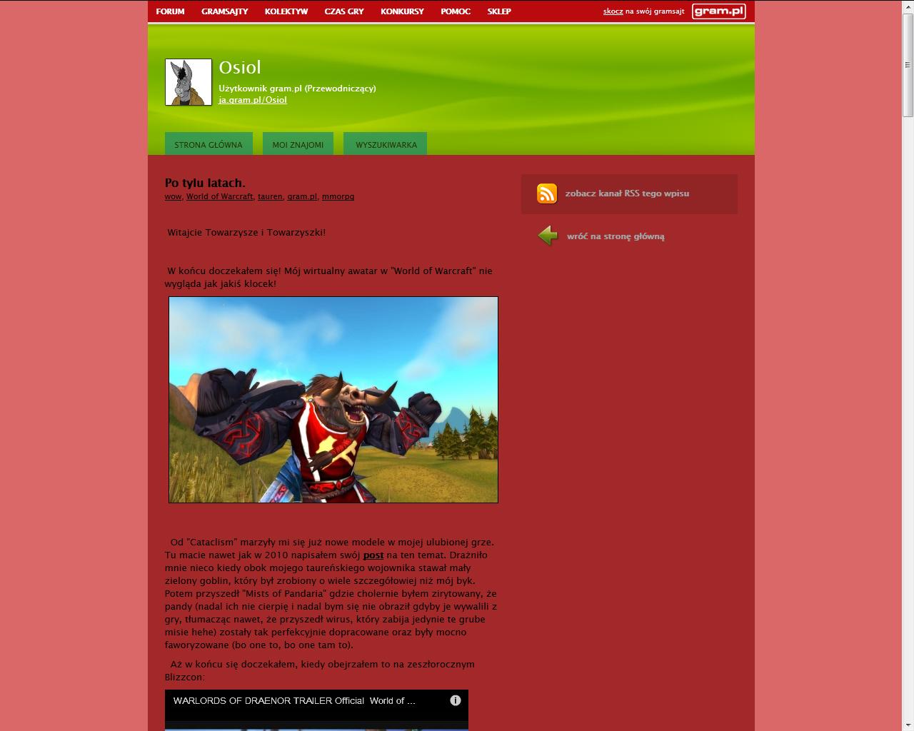 Co w gramsajtach piszczy #113 - O World of Warcraft, Hatred i Katawa Shoujo! - obrazek 2