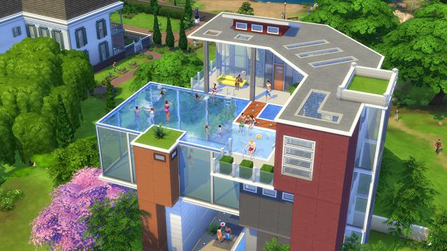 The sims 4 w ko cu z mo liwo ci budowania basen w for Sims 4 piani di casa