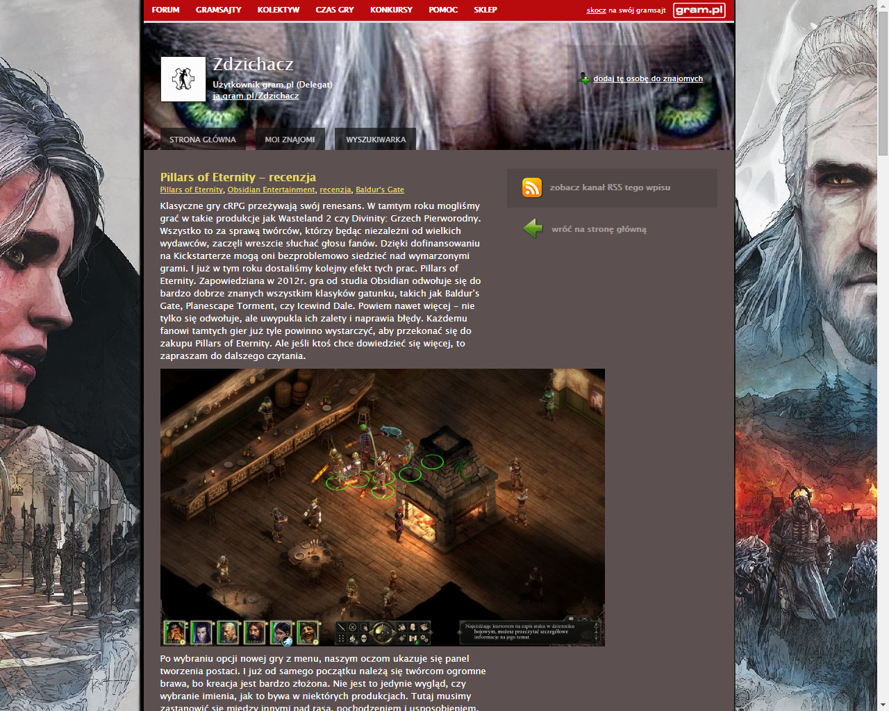 Co w gramsajtach piszczy #127 - Pillars of Eternity, spoilery i nowe opowiadania! - obrazek 2