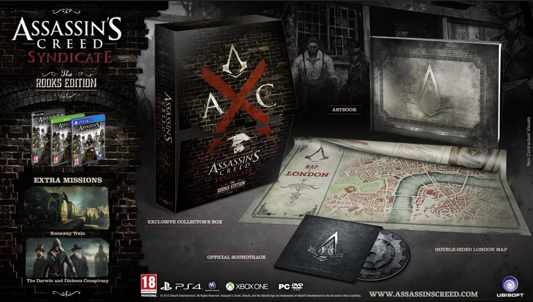 Assassin's Creed Syndicate w trzech edycjach kolekcjonerskich do wyboru - obrazek 1