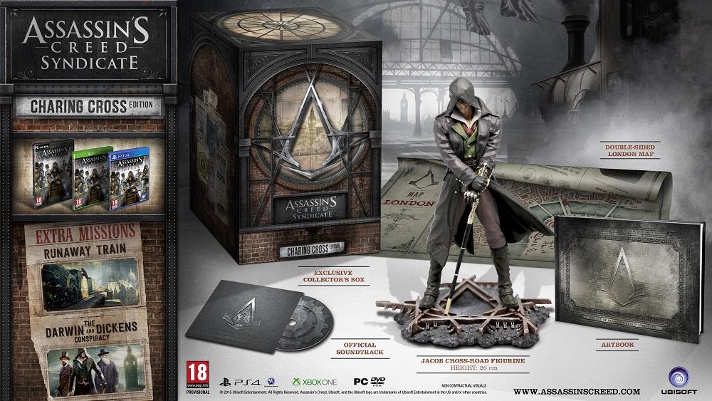 Assassin's Creed Syndicate w trzech edycjach kolekcjonerskich do wyboru - obrazek 2