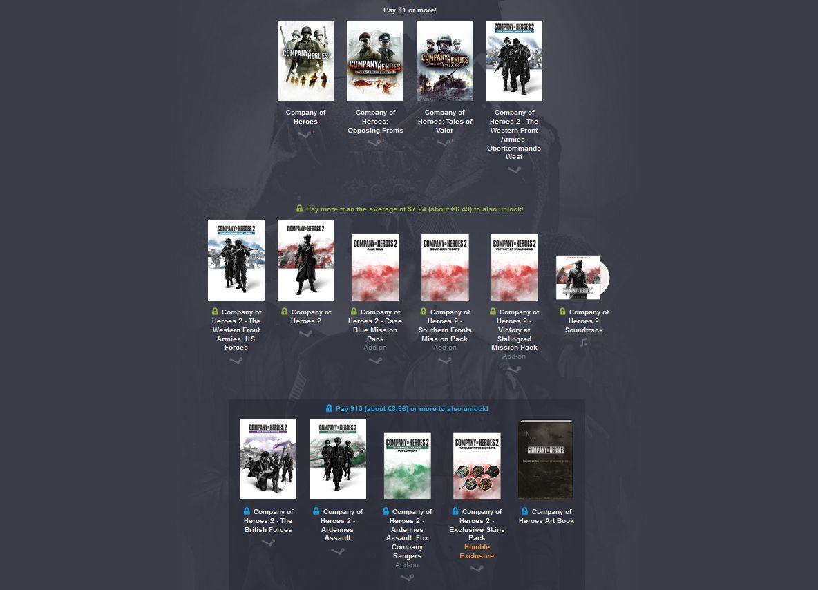 Case Blue Company Of Heroes 2 : Company of heroes trafiło do humble bundle gram.pl