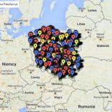 Pokemon Go - oto mapa Gymów i Pokestopów w Polsce!