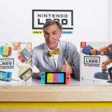 Bill Nye the Science Guy promuje Nintendo Labo