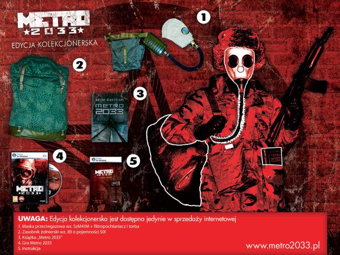 Wizualizacja polskiej edycji kolekcjonerskiej Metro 2033 - obrazek 1