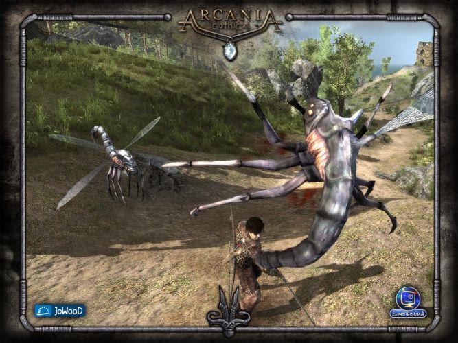 Скриншоты Arcania: Gothic 4 (Готика 4: Аркания) .