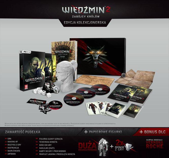 Edycja Kolekcjonerska Wiedźmin 2: Zabójcy Królów - przedsprzedaż w sklepie gram.pl - obrazek 1