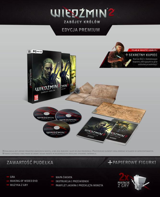 Edycja Kolekcjonerska Wiedźmin 2: Zabójcy Królów - przedsprzedaż w sklepie gram.pl - obrazek 2