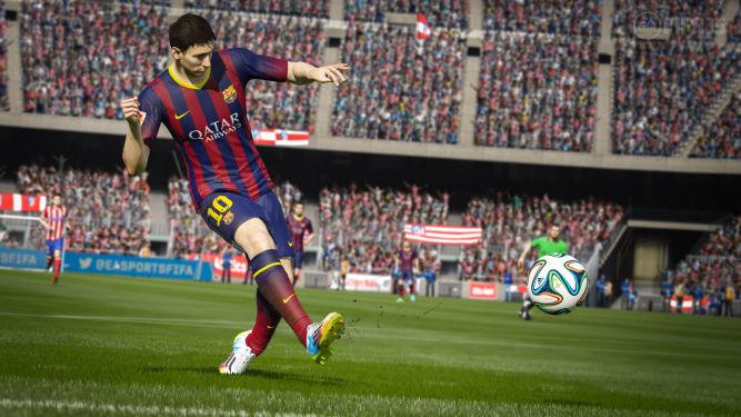 O bieganiu, panowaniu nad piłką i przepychankach w FIFA 15 słów kilka - obrazek 1