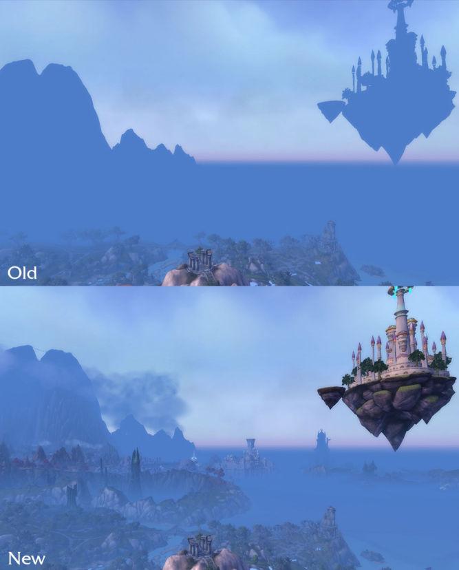 World of Warcraft: Legion z większą odległością rysowania obiektów - obrazek 3