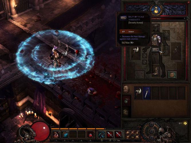 Blizzard rzucił do Internetu kolejne screeny z Diablo III - obrazek 1