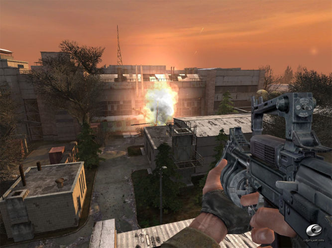 S.T.A.L.K.E. R. Shadow of Chernobyl - Lost World Condemned. 2007. Системны