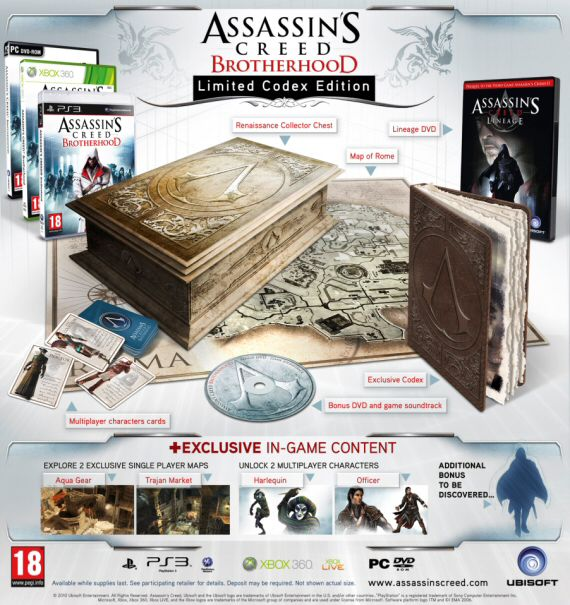 Edycja kolekcjonerska Assassin's Creed: Brotherhood - obrazek 1