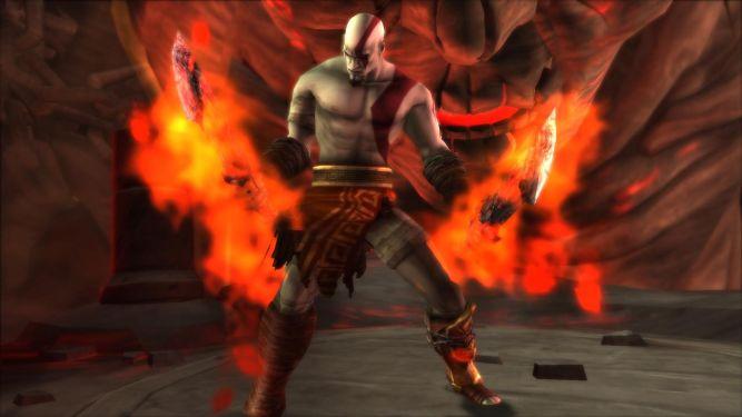 God of War: Chains of Olympus - zobacz różnice pomiędzy wersją na PS3 i PSP - obrazek 1