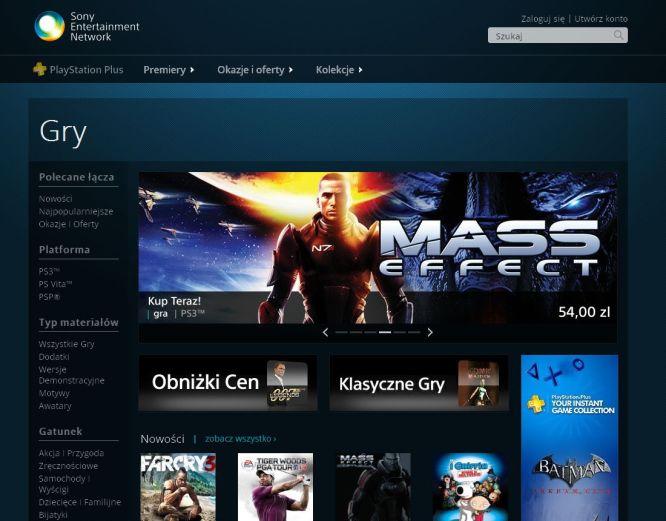 PlayStation Store teraz także z poziomu przeglądarki internetowej - obrazek 1