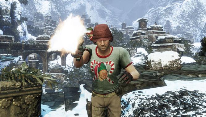 Zgarnij świąteczne podarunki w Uncharted 3 - obrazek 1