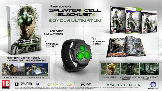 Znamy zawartość edycji kolekcjonerskich Splinter Cell: Blacklist - obrazek 2