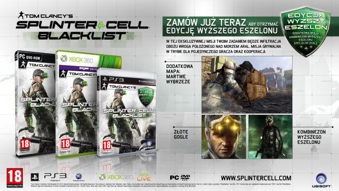 Znamy zawartość edycji kolekcjonerskich Splinter Cell: Blacklist - obrazek 3
