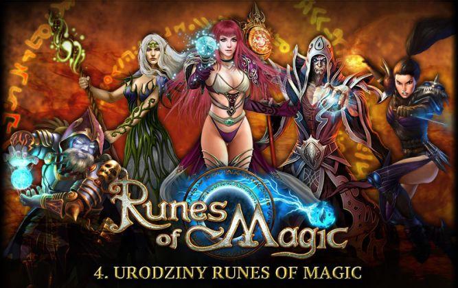 Czwarta rocznica istnienia Runes of Magic uczczona Urodzinowym Tygodniem - obrazek 1