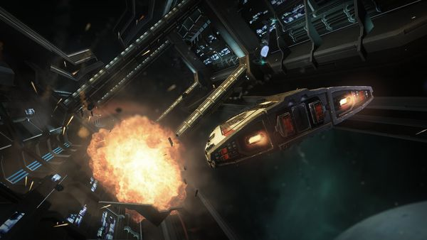Frontier Developments zaprezentowało pierwsze obrazki z Elite: Dangerous - obrazek 3