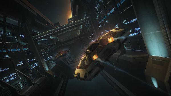 Frontier Developments zaprezentowało pierwsze obrazki z Elite: Dangerous - obrazek 4