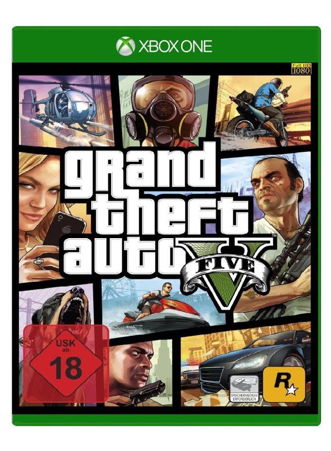 GTA V widziane w wersji na PlayStation 4 - obrazek 4