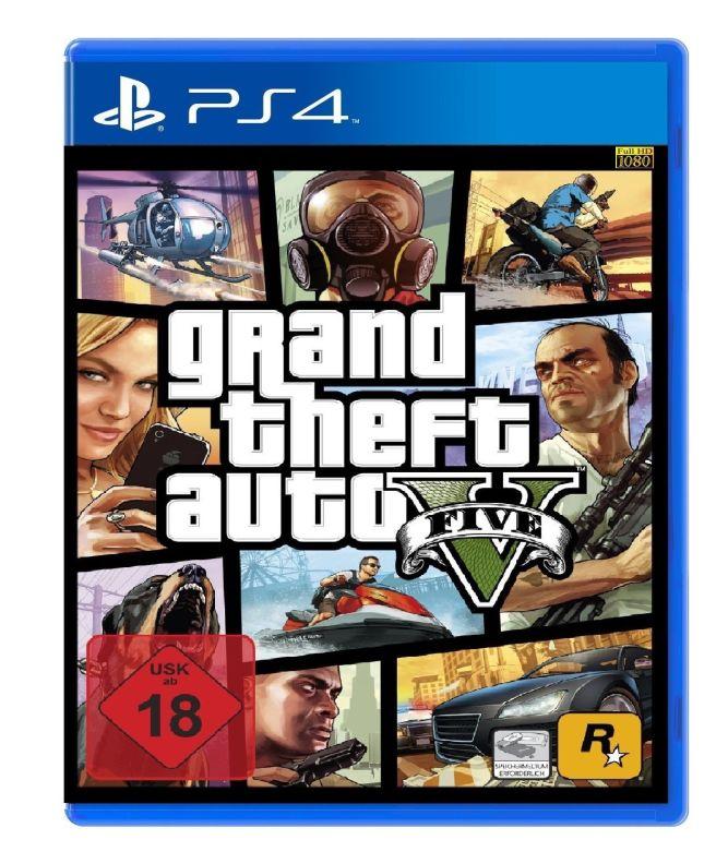GTA V widziane w wersji na PlayStation 4 - obrazek 3