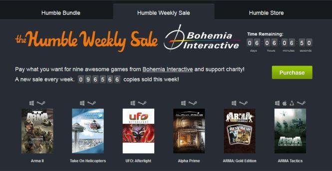 Gry od Bohemia Interactive w roli głównej nowego Humble Weekly Sale - obrazek 1