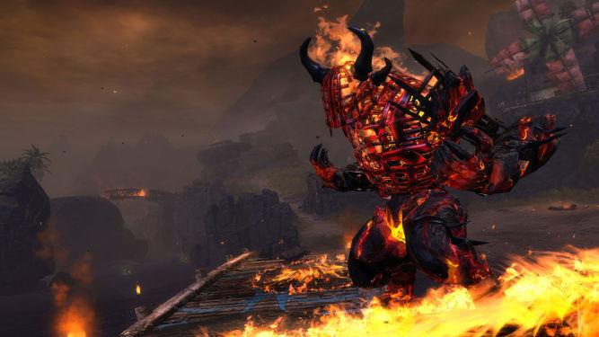 Guild Wars 2: Lion's Arch stoi w płomieniach, zobacz screeny upamiętniające to straszne wydarzenie - obrazek 1