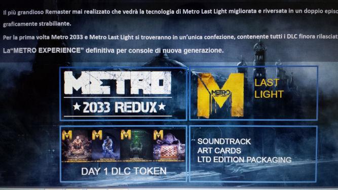 Plotka: Metro Redux zmierza na PS4, Xboksa One i PC - obrazek 2