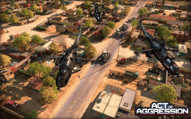 Act of Aggression - oldskulowy RTS twórców serii Wargame na pierwszym trailerze - obrazek 1