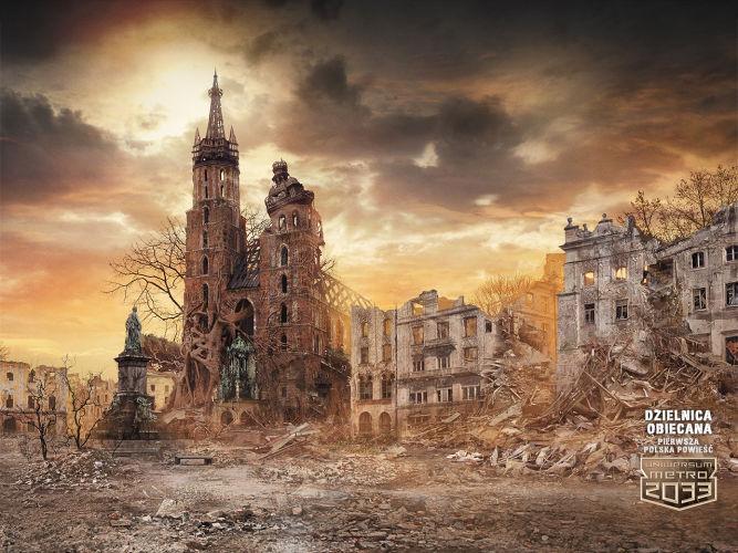 Dzielnica Obiecana - pierwsza polska powieść w Uniwersum Metro 2033 już za tydzień w księgarniach - obrazek 1
