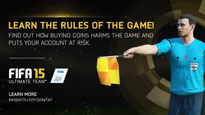 FIFA 15 - EA nie będzie tolerować farmerów - obrazek 1