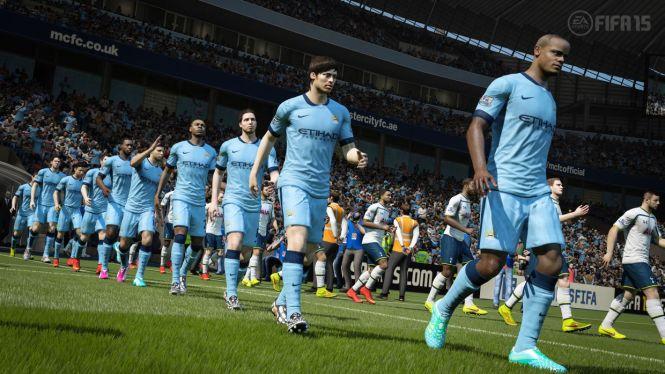 Liga angielska na nowych screenach z gry FIFA 15 - obrazek 1